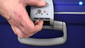 Samsonite cijferslot of TSA slot instellen