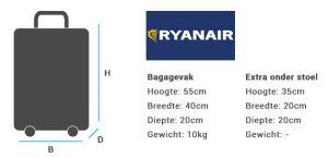 Ryanair Handbagage 300x145 - Handbagage koffer kopen?