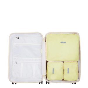 Reisaccessoires - SuitSuit Fabulous Fifties Packing Cube Set 66 cm mango cream