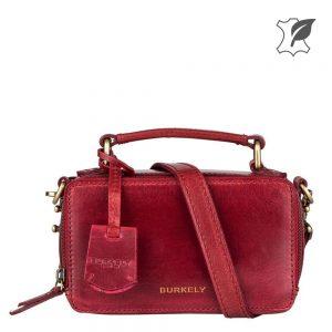 Burkely rood 300x300 - Echt leren damestassen voor elk budget