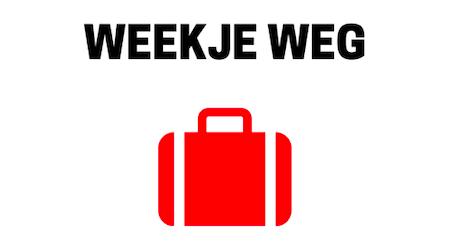 weekje weg cover - Koffers voor een weekje weg