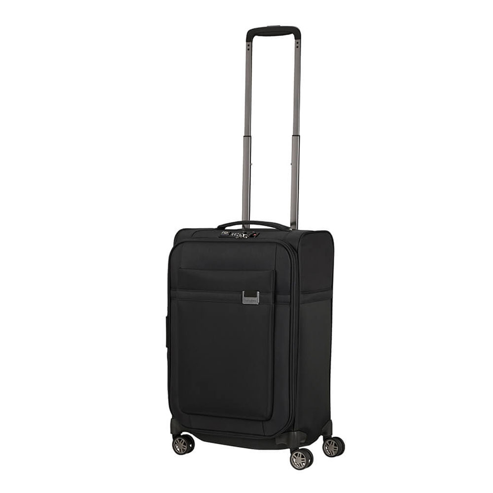 Samsonite Airea Spinner 55 Black 1 - Samsonite koffers: een bewuste keuze